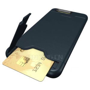 Hide Credit Card Slot Phone Case for Huawei P10 Plus pictures & photos
