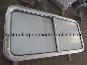 Glass Window / Fireproof Sliding Service Window pictures & photos