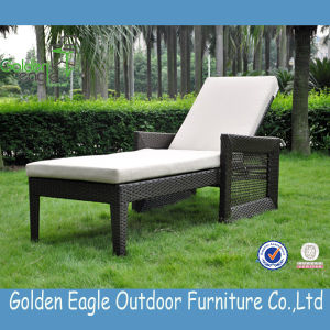 PE Furniture Sun Lounger with Cushion