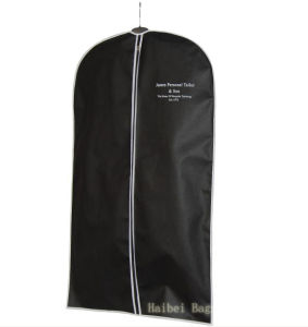 Custom-Size PP Suit Bag, Non Woven Garment Bag, Clothing Bag for Cover (hbga-23) pictures & photos