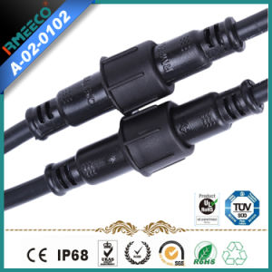 M 18 Circular Waterproof Cable Connector Assembly ---4pins
