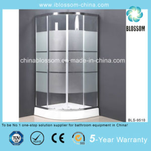 Tempered Acid Glass Simple Enclosure Shower Room Shower Cabin (BLS-9510) pictures & photos