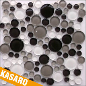 Round Gl Mosaic Tile Bubble Pebble Tiles Ksl 112017