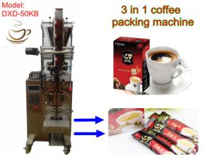 Coffee Packaging Machine High Efficent (PLC control; stick shape;) pictures & photos