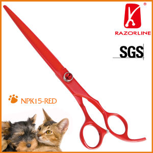 Pet Grooming Sicssors-Pet Dog Tools in Teflon Coated