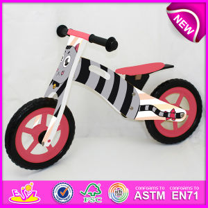 2014 New Wooden Bicycle for Kids, Lovely Design Wooden Bike Toy for Children, Hot Sale Wooden Toy Bicycle for Baby Factory W16c074 pictures & photos