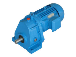 Shaft Output Helical Gearbox with Gear Motor