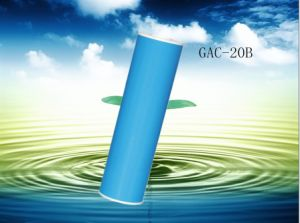Water Filter Activated Carbon Cartridge, 10 Inch GAC-20b Block Carbon Filter Sediment Water Purification System pictures & photos