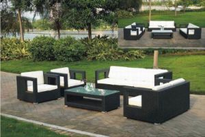 Rattan Furniture, Rattan Sofa, Design Sofa Set (MS-103)
