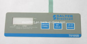 L Membrane Switch Panel for Security System