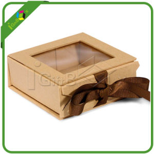 Cardboard Gift Box With Clear Lid