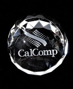 Faceted Dome Crystal Paperweight pictures & photos