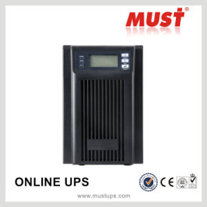 Must High Frequency LCD IGBT Uninterruptible Power Supply 3kVA UPS pictures & photos