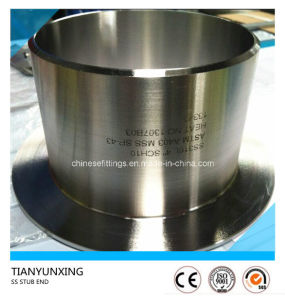 ASTM A403 Ss316L Seamless Stainless Steel Pipe Fitting Stub End pictures & photos