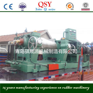 Manufactured Qingdao Xk-400 Rubber Mixing Mill pictures & photos