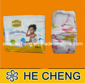 Disposable Super Thin Good Baby Diaper for Eurpoean Market (MOBEE) pictures & photos