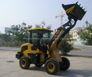 High Quality 1.2tons 0.6m3 Small Wheel Loader with CE (ZL12) pictures & photos