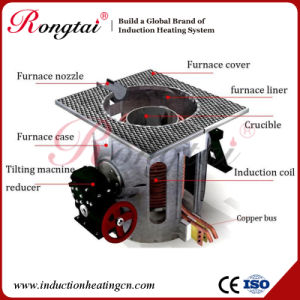 0.75t Medium Frequency Aluminum Steel Melting Furnace pictures & photos