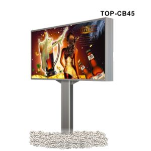 Outdoor Stand LED Advertising Display Light Box with Pole pictures & photos