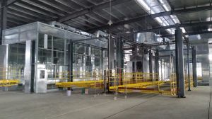 Autoamtic Industrial Powder Coating Product Line