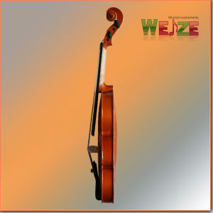 Red Brown Entry Level Violin with White Edging pictures & photos