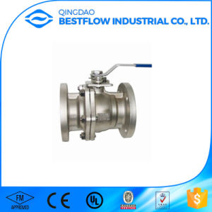 Full Bore Cast Steel Ball Valve pictures & photos