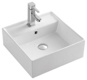 jnklm91080 bathroom rectangular shape art ceramic porcelain hand wash sink basin - Hand Wash Sink