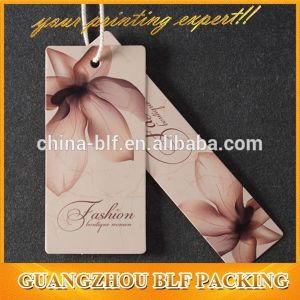 New China Paper Clothing Hang Tag Designs (BLFT096) pictures & photos