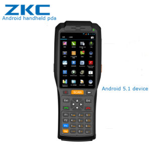 Zkc3506 4 Inch Android Device Thermal Printer Handheld PDA