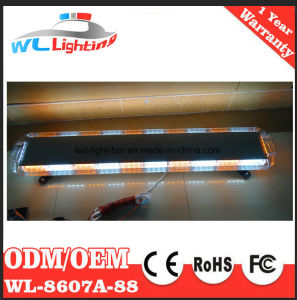 88W Police LED Light Bar Red/White pictures & photos