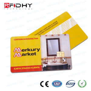 China Cr80 High Frequency F08 Programmable Rfid Pvc Contact Card