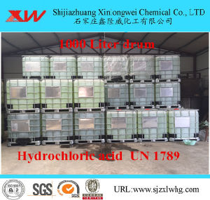 ISO Qualified Hydrochloric Acid HCl pictures & photos