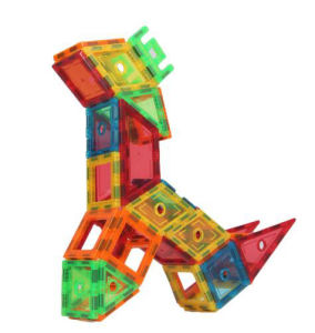 Toys Plastic Magnetic Building Blocks for Kids