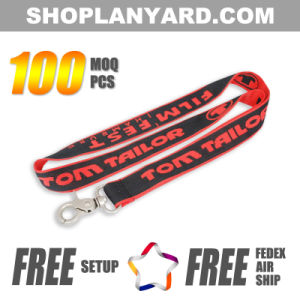 Colorful Woven Neck Strap, Low MOQ, High Quality