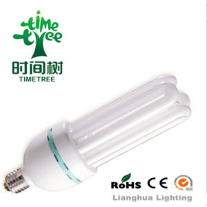 4u 40W 14mm 6000h High Lumen Tricolour Energy Saving Lamp (CFL4UT56KH) pictures & photos
