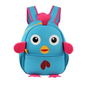 The Newest Cute Cartoon Chick Backpack for Children pictures & photos