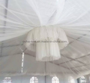 Romantic and Luxury Clear Roof Cover Wedding Marquee in 18m Width