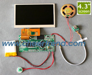 China 2017 best factory diy 43 inch video module for video greeting 2017 best factory diy 43 inch video module for video greeting card video brochure m4hsunfo