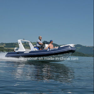 Liya 17ft Rigid Inflatable Boat Made in China Rib Boats for Sale pictures & photos