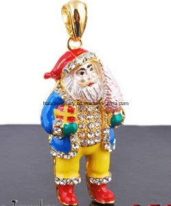 Christmas Jewelry/Christmas Necklace/Father Christmas (XJW13349) pictures & photos
