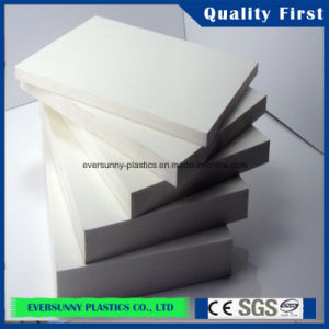 4*8 High Density 1~25mm PVC Wall Panel White PVC Foam Sheet pictures & photos