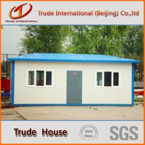 Galvanized Steel Prefabricated Building/Mobile/Modular/Prefab/Prefabricated House for Residence pictures & photos
