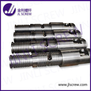 Extruder Parts Conical Twin Screw and Barrel