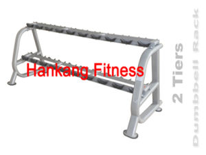 Fitness, Commercial Strength, Body Buding Equipment, 2 Tiers Dumbbell Rack-PT-854 pictures & photos
