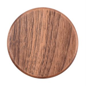 Wooden Mobile Fast Qi Wireless Charger for Samsung Galaxy iPhone pictures & photos