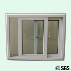 Good Quality White Colour UPVC Profile Sliding Window, UPVC Window, Window K02010