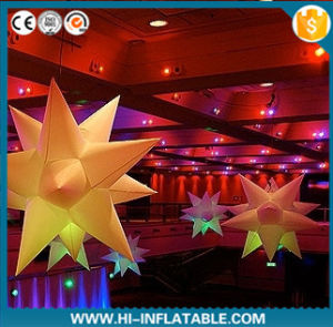 2015 Hot Selling Inflatable Star Balloon 010 for Event, Party, Exhibition, Christmas Decoration with LED Light