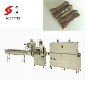 Pet Food Packaging Machine with Shrink Tunnel pictures & photos