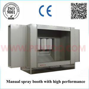 Latest Manual Powder Coating Booth in Powder Coating Line pictures & photos
