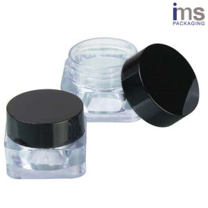 10ml Square Plastic Cosmetic Pot pictures & photos